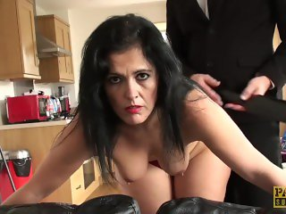 BIGASS MONTSE GETS ABUSED AND DOMINATED HARD