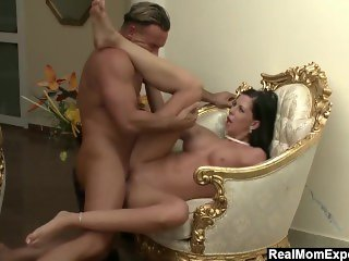 Gold Digger Larissa Taking Care Of Her Daddy