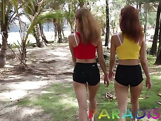 Paradise Gfs - Twins model and get fucked in Thailand