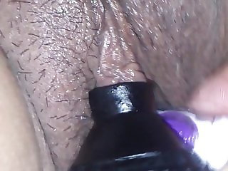 Giving pleasure to my wife's clitoris