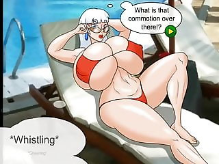Mrs Claus on vacation