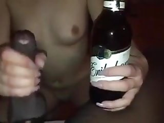 Beer and cock