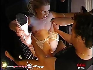Cum Dolly Steffi gangbanged - German Goo Girls