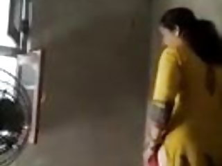 indian aunty wearing her salwar after sex