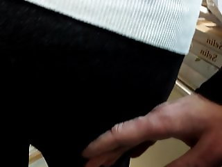 Touched big ass mature milfs in tight pants