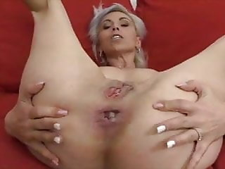 grey hairy french mature having anal sex