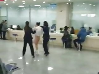 chinese nude girl at the airport