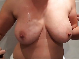 Gema show us her tits and fucking