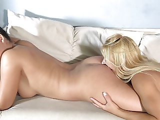 Nikki and Coco in hot ass worship
