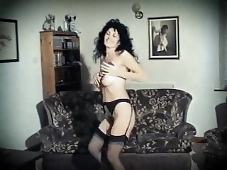 ACE OF SPADES - vintage British hairy strip dance tease
