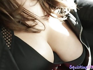 Squirting babes tribbing and pussylicking