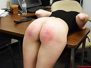 The Slutty Student Gets Spanked!