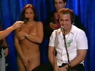 Brother undresses sister on Howard stern