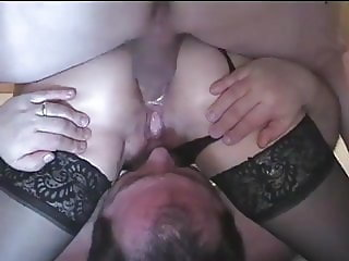 Shared Wife Gets Cock, Husband Gets Facial
