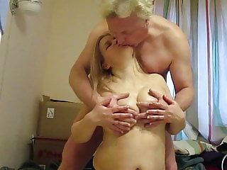 Big Natural Tit Russian Tit play and BJ