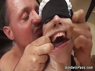 brutal anal fisting lesson