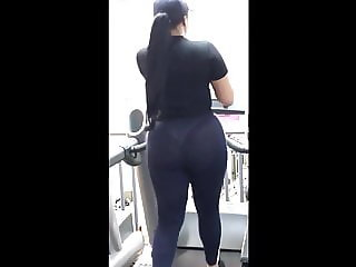 Ass on the Treadmill