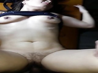 Young Hot MILF cums on dick. HOT MILF