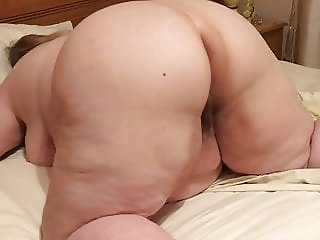 My bbw wife arse and cunt show