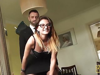 PASCALSSUBSLUTS - Hot Eva Johnson submits to anal discipline