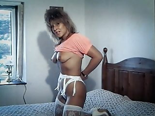 PRIVATE DANCER - vintage British stockings slow striptease
