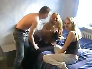 Mother and daughter fucked