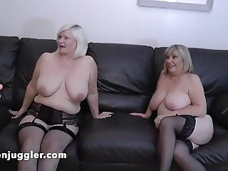 Young Lesbian fucks with two older women