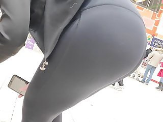 Juicy big ass girls in tight lycra