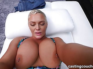 PAWG MILF Pounded During Rap Video Audition