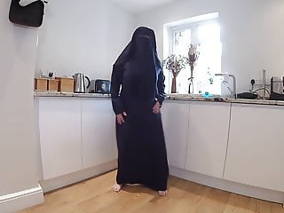 Burqa Striptease