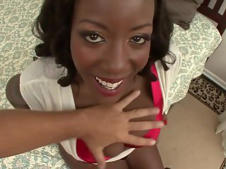 Ebony Sierra interracial sex - Real Orgasms