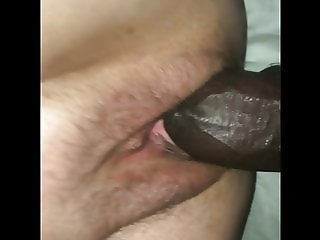 Youn bbc Stuffing her pussy