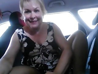 Slut in the car