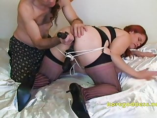 Ass and pussy fucked together