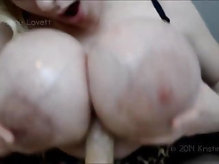 Monster Silicone Tits Plastic titfuck titjob