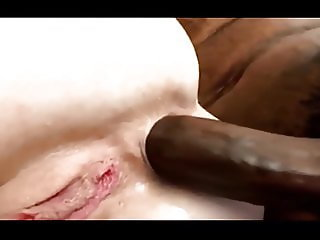 Sharon willfully getting a BBC in her ass