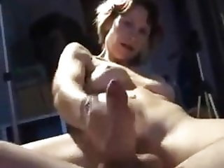 double dildo and jerking