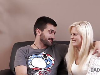 Dad send guy away to have opportunity to fuck his girlfriend