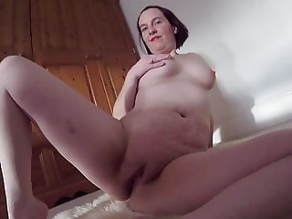 Shy Wife Strips naked