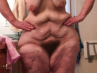 Mature Hairy Kay Discusses Her Body