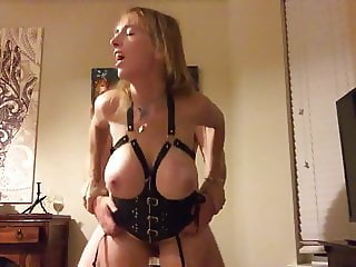 Boltonwife taken from behind bondage part 1