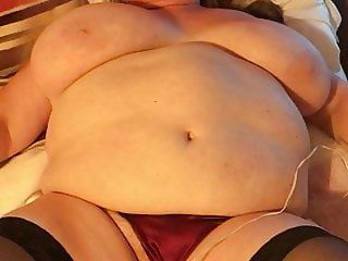 My BBW wife performs hot dance part 3