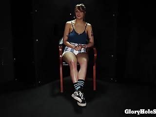 Sailor Luna Deepthroating strangers cocks in the gloryhole