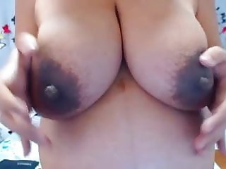 Stunning latin pregnant chick with amazing tits and nipples