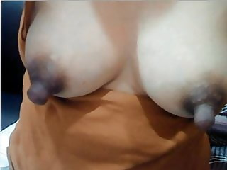 So love these massive Milky Nipples -  Asian lactating babe
