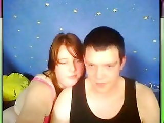 German UGLY Couple Fuck for me on Webcam