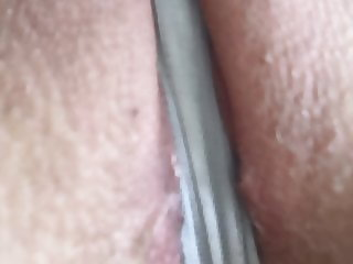 Panties between my pussylips