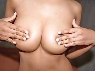 Her big tits look amazing as she rides cock