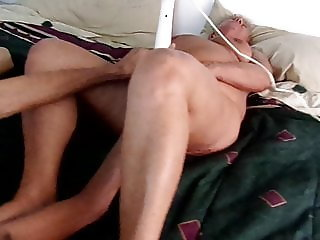 A Friend Helps Granny Ann with Her Great Orgasms