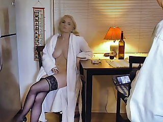 Liz Ashley Has A Smoke and Glass of Wine Before Bed - BTS